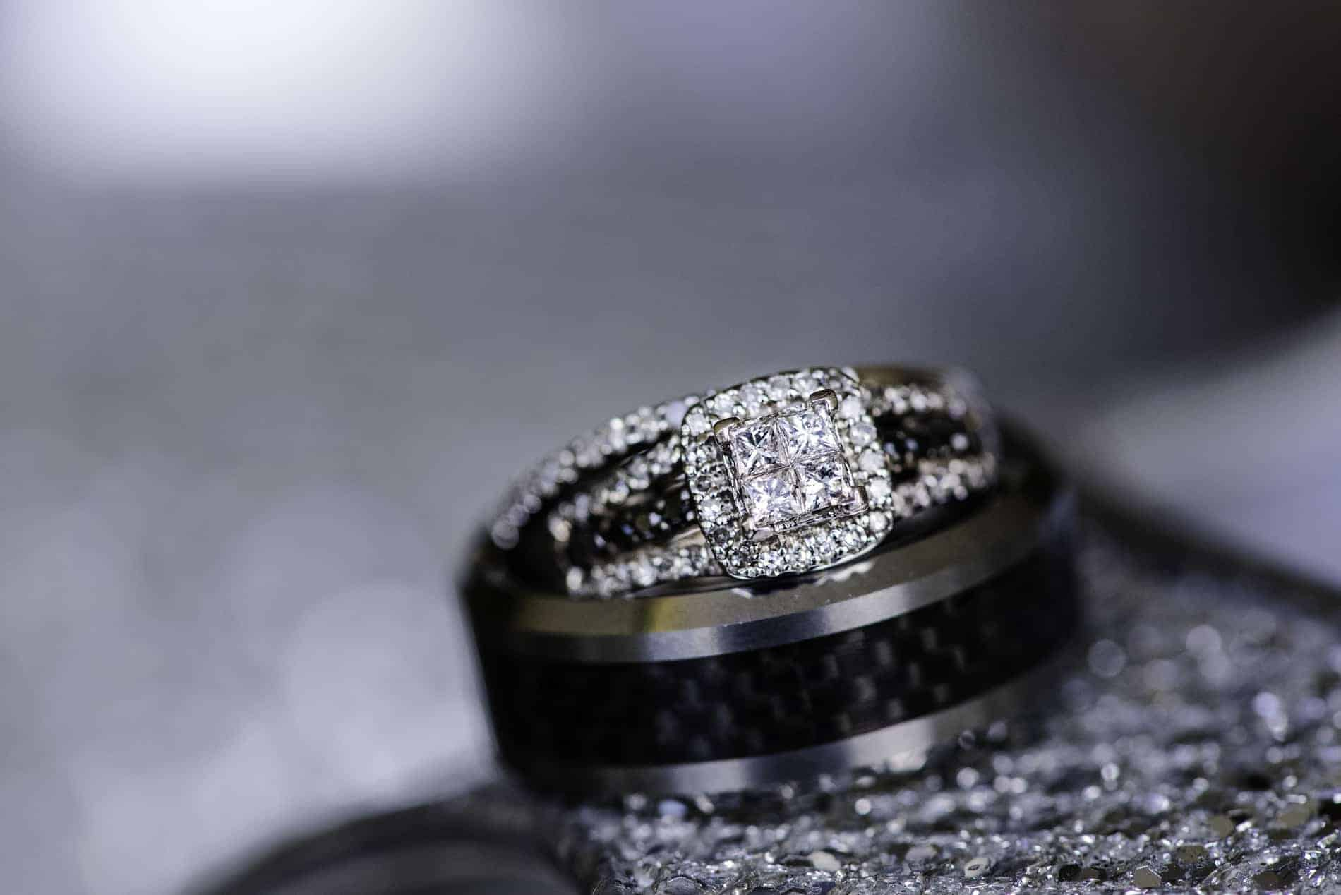 Detail Photo of Engagement Ring