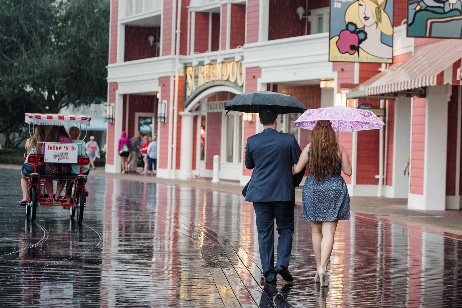 Disneys Boardwalk Engagement Photos