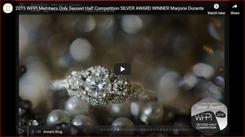 WPPI Silver Distinction Award Winner Marjorie Durante