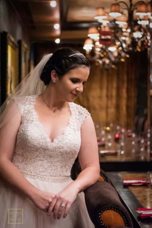 Top Bridal Portrait at Citrus Club Wedding