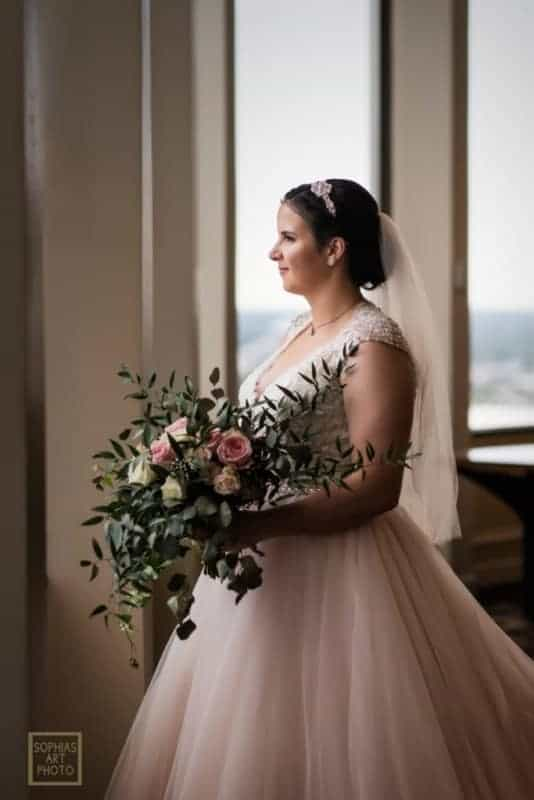 Top Bridal Portrait at Citrus Club Wedding