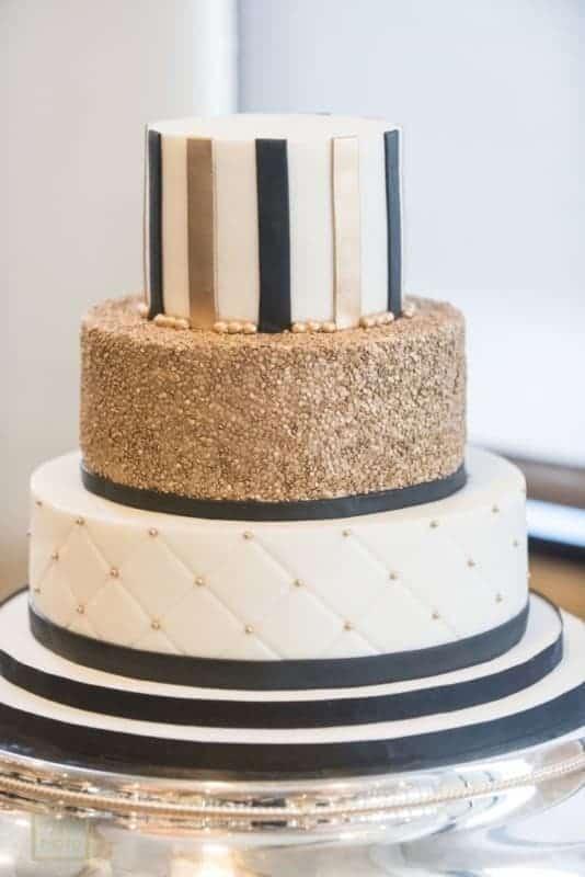 Best Citrus Club Wedding Cake