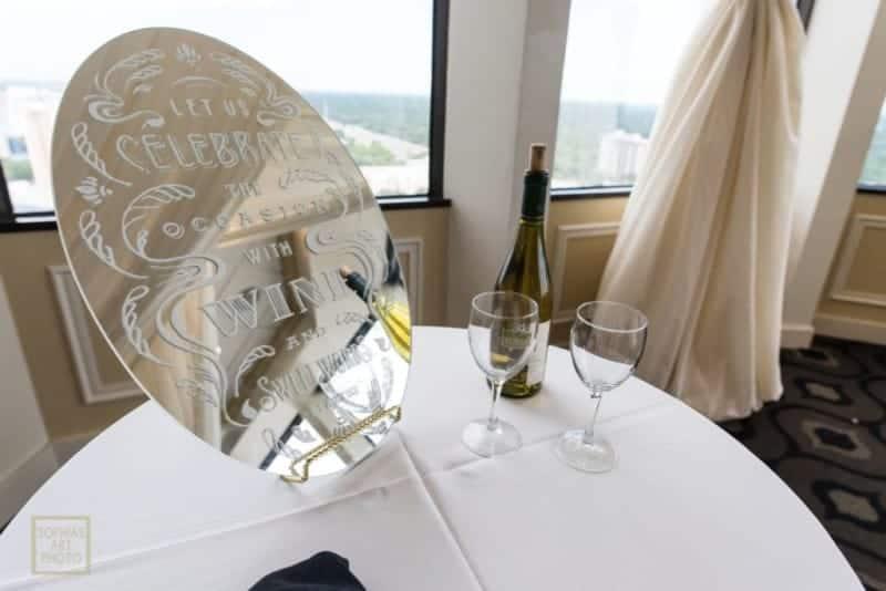 Our Best Citrus Club Wedding Table Details