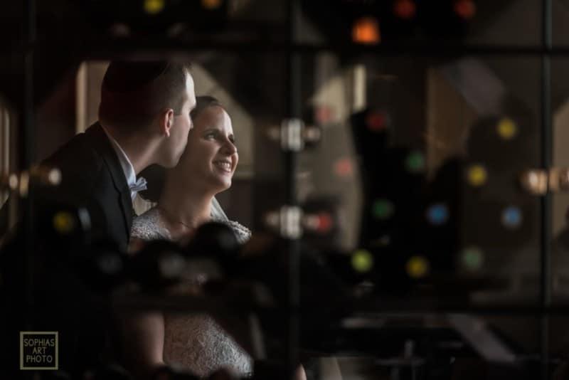 Bride and Groom at Citrus Club Wedding