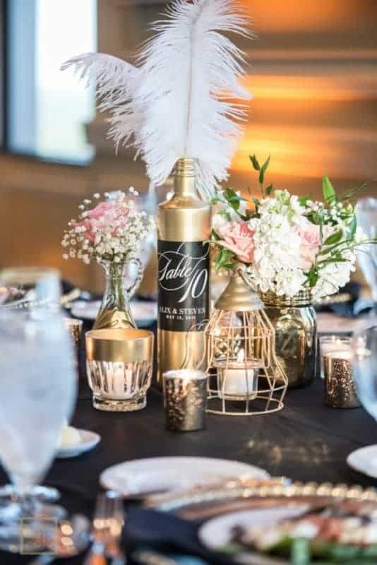 Best Citrus Club Wedding Table Details