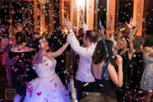 Bride and Groom last dance at Citrus Club Wedding