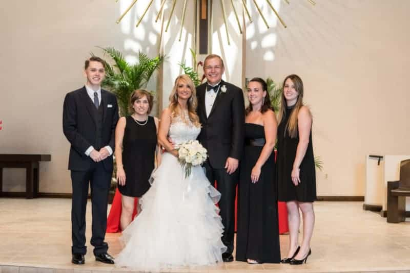 Group Formals at St Margaret Mary Catholic Church