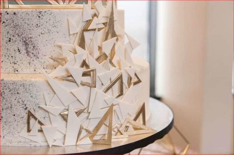 Citrus Club Wedding Cake Details