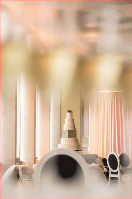 Summer Wedding Inspiration Showcase Top Citrus Club Wedding Cake