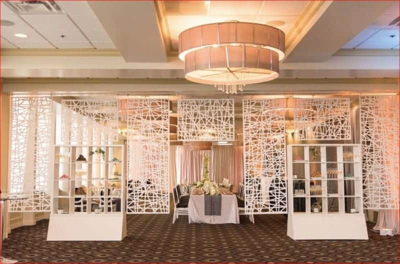 Citrus Club Wedding Room