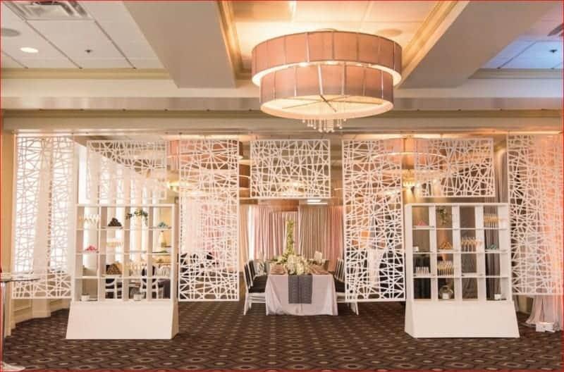 Citrus Club Wedding Room