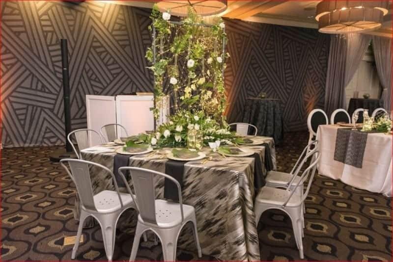 Best Citrus Club Wedding Centerpiece