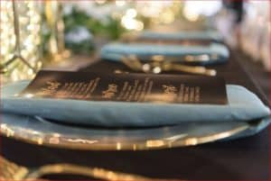 Best Citrus Club Wedding Table Details