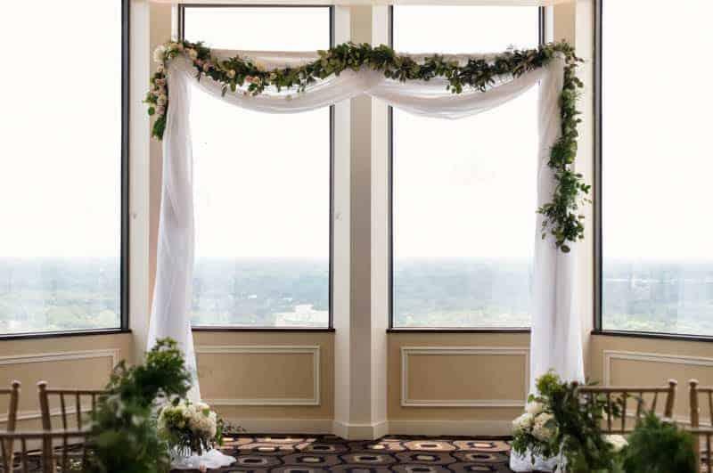Ceremony Canopy for Citrus Club Weddings