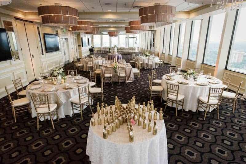 Festive details during Citrus Club Weddings