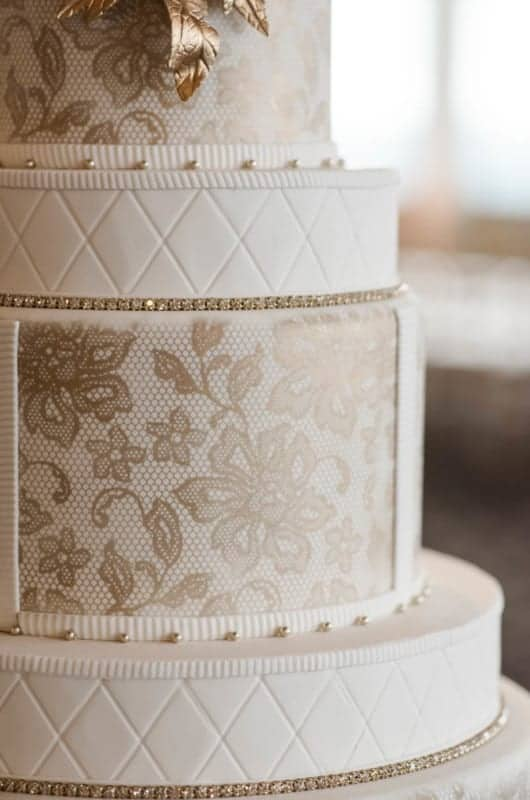 Summer Wedding Inspiration Showcase Wedding Cake Details for Citrus Club Weddings