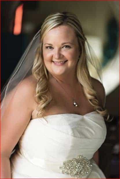 Bridal Portrait before for a Citrus Club Wedding