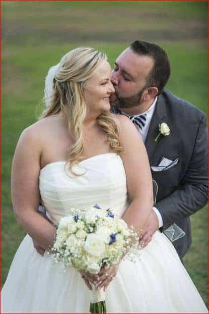 Couples Portrait before for a Citrus Club Wedding