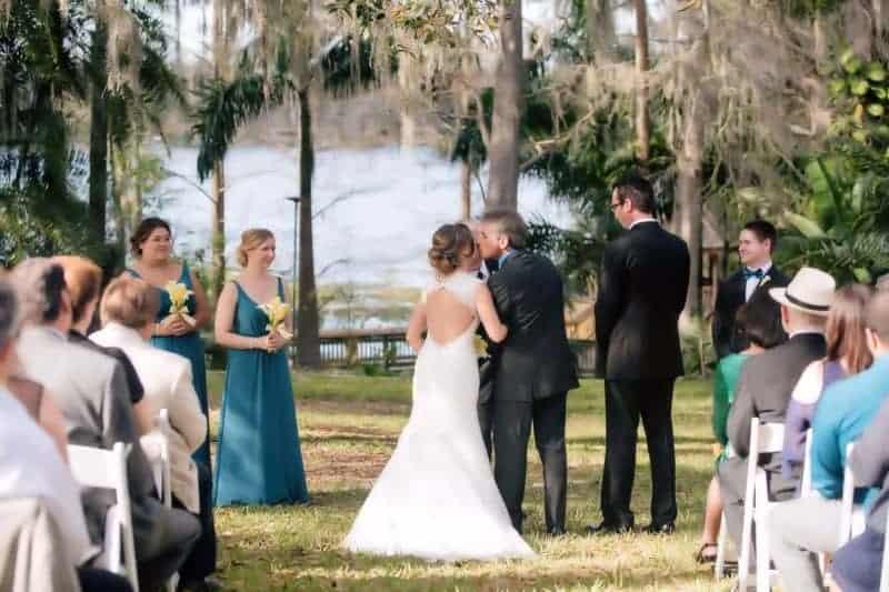 Harry P Leu Gardens Real Wedding Ceremonies Outdoors