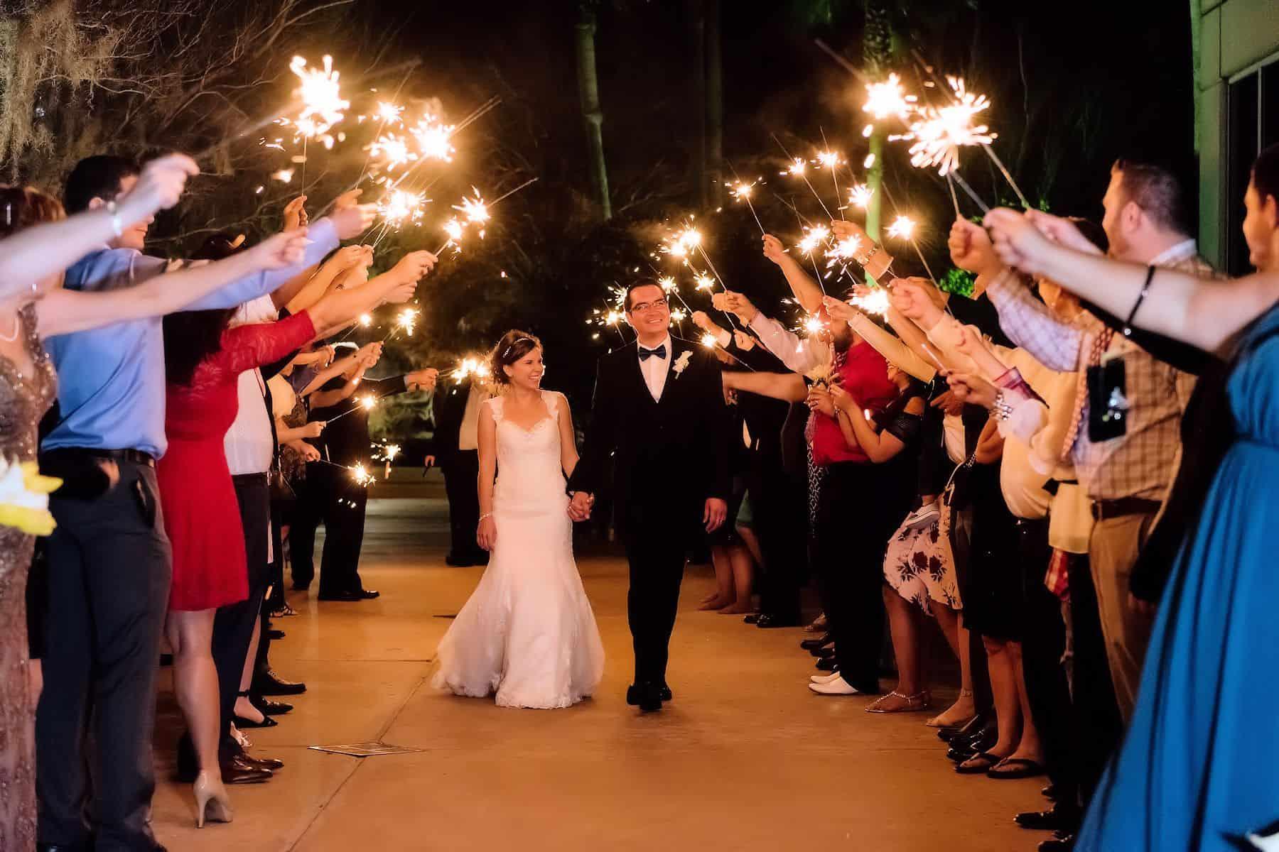 Harry P Leu Gardens Real Wedding