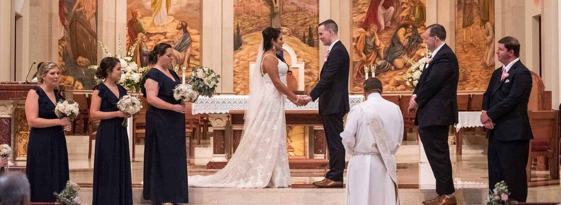 St James Cathedral Wedding