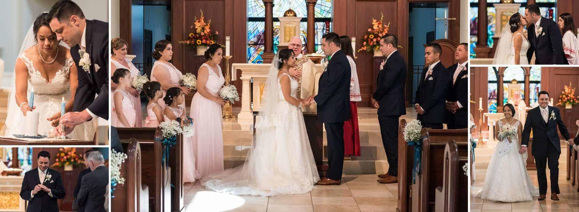 Corpus Christi Catholic Church Wedding Ceremony