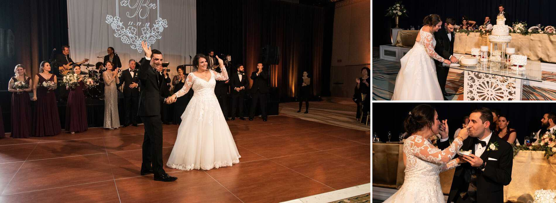 First Dance at Disney Swan and Dolphin ballroom.