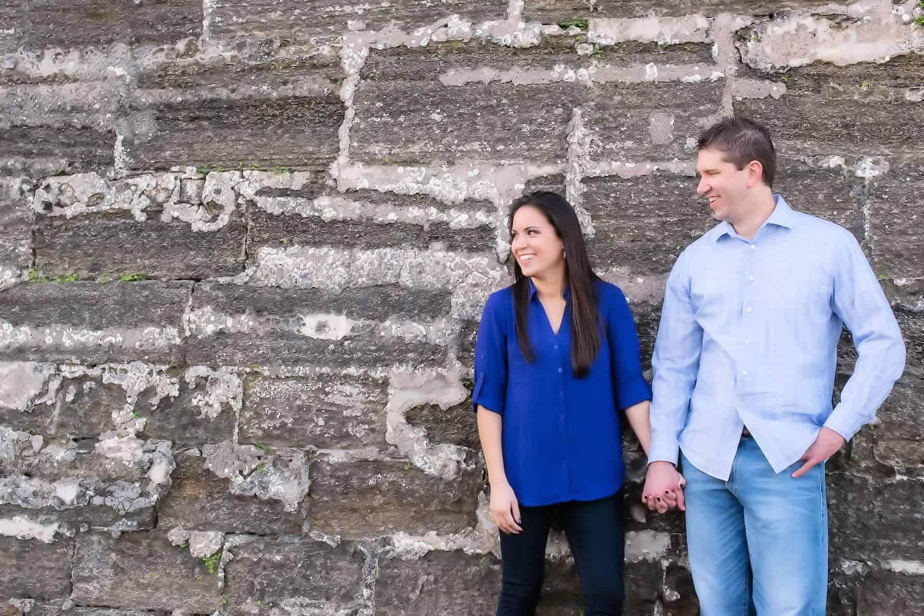 Castillo de San Marcos St. Augustine Engagement Session