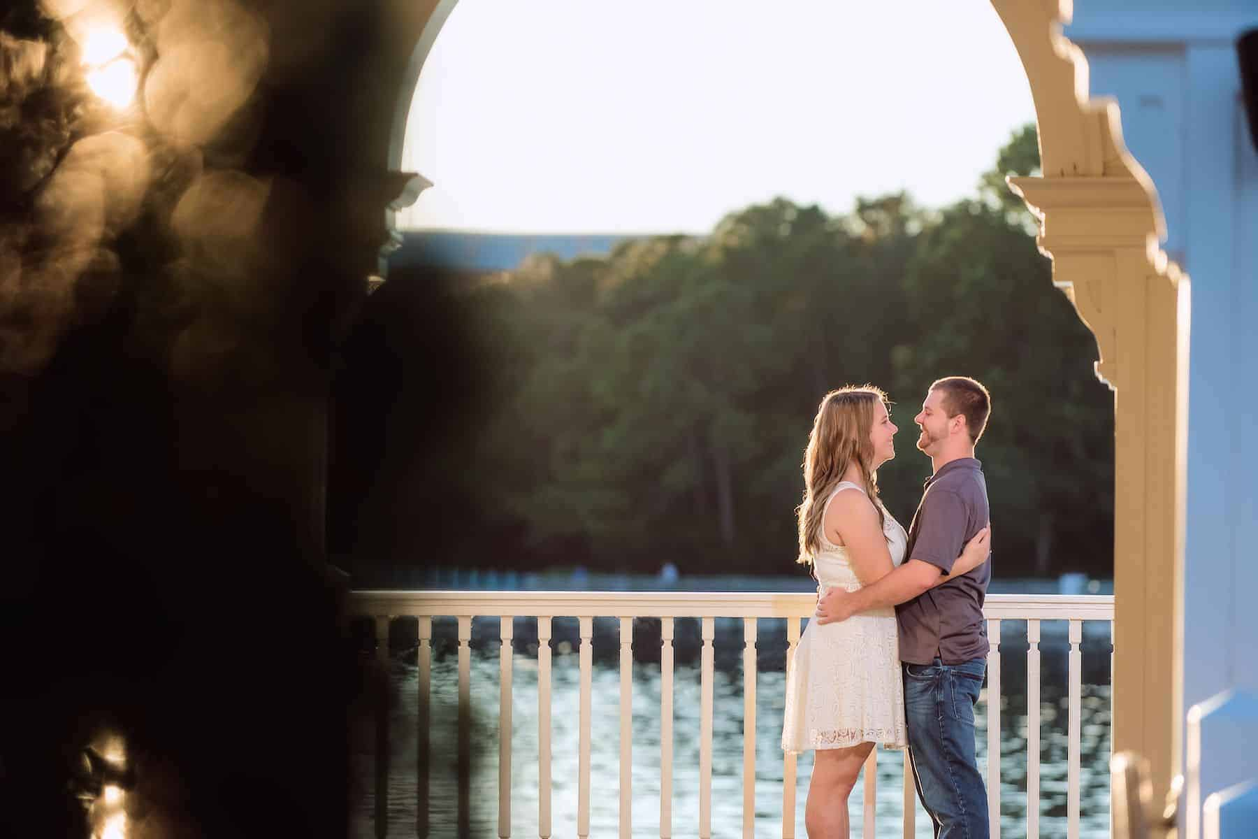 Disney Boardwalk Engagement Experience | Kaitlyn and Patrick