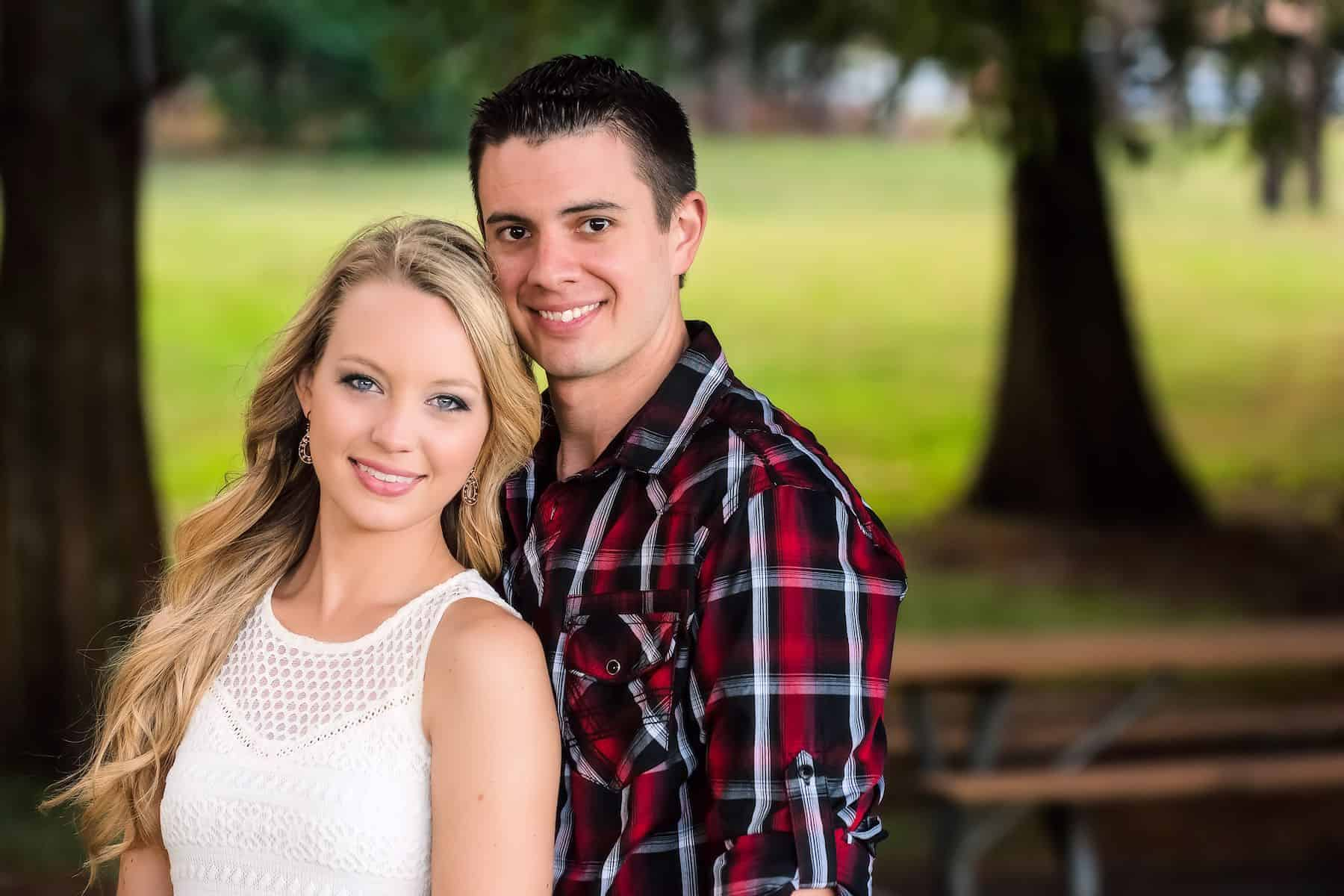 Couples portrait during their Engagement Session