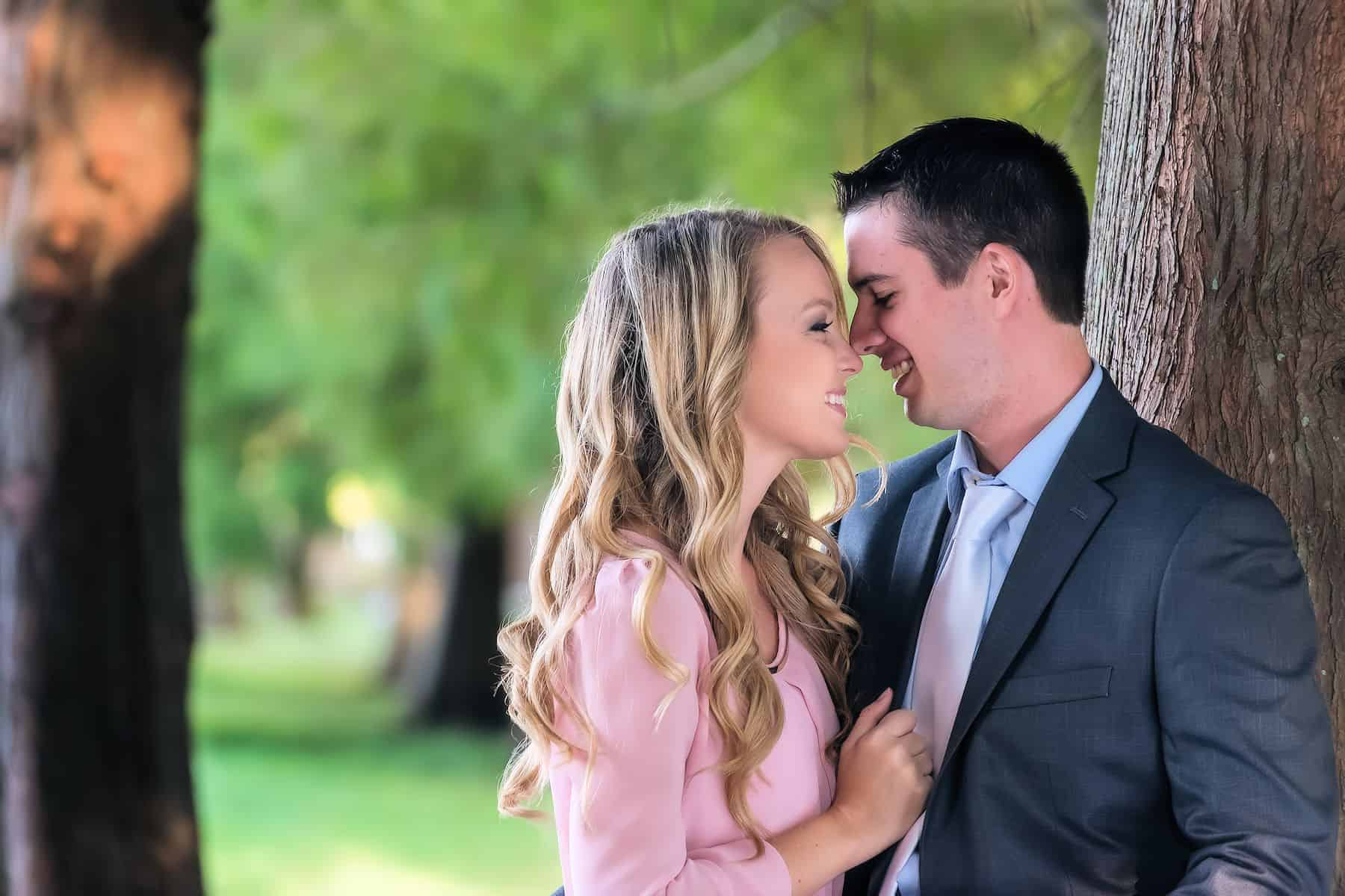 Engagement Photos of a loving couple