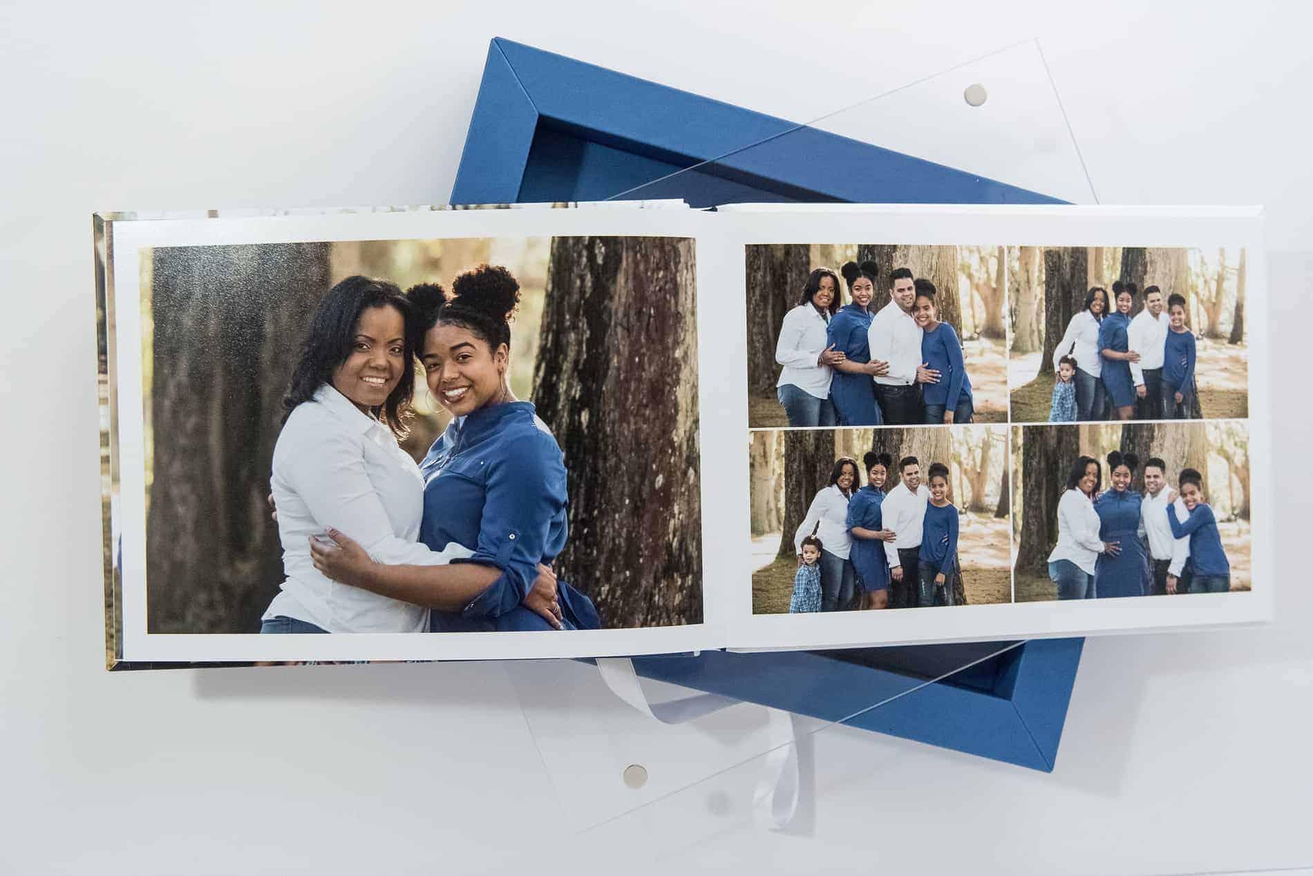 Beautiful Lay Flat Family Photo Albums by Sophias Art Photo
