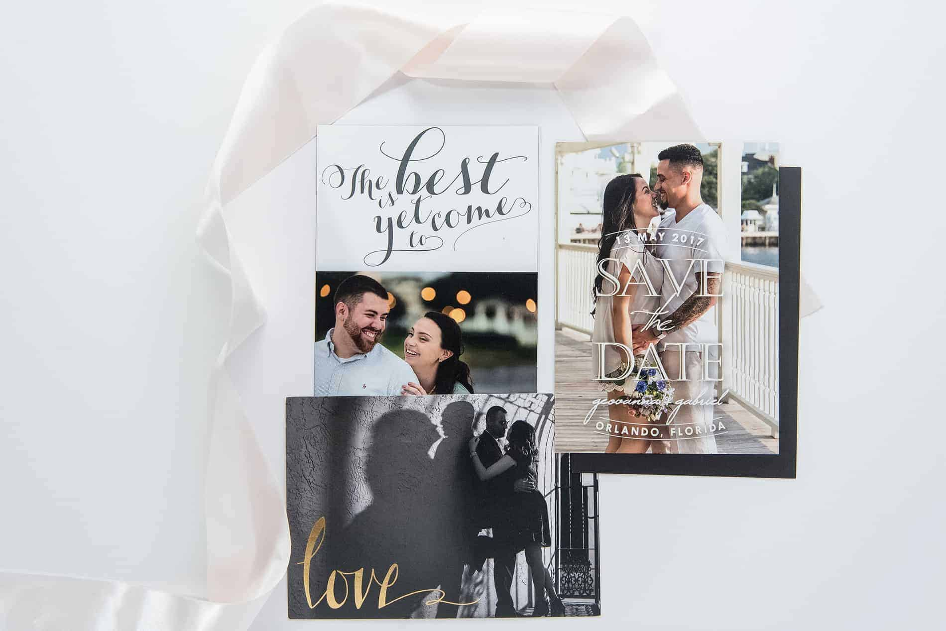 Always get your engagement photos made into Save the Dates