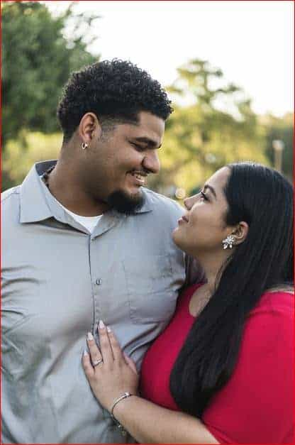 We love to photograph young couples in Downtown Orlando
