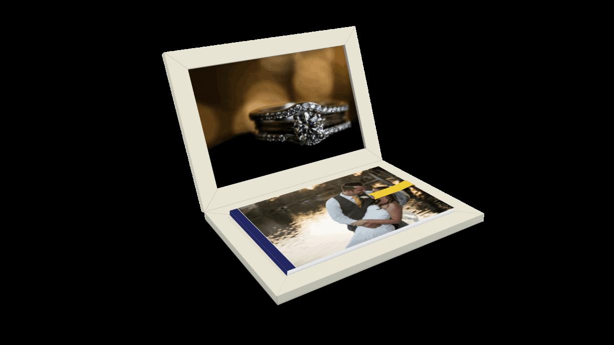 This original album design from wedding photographers in Orlando