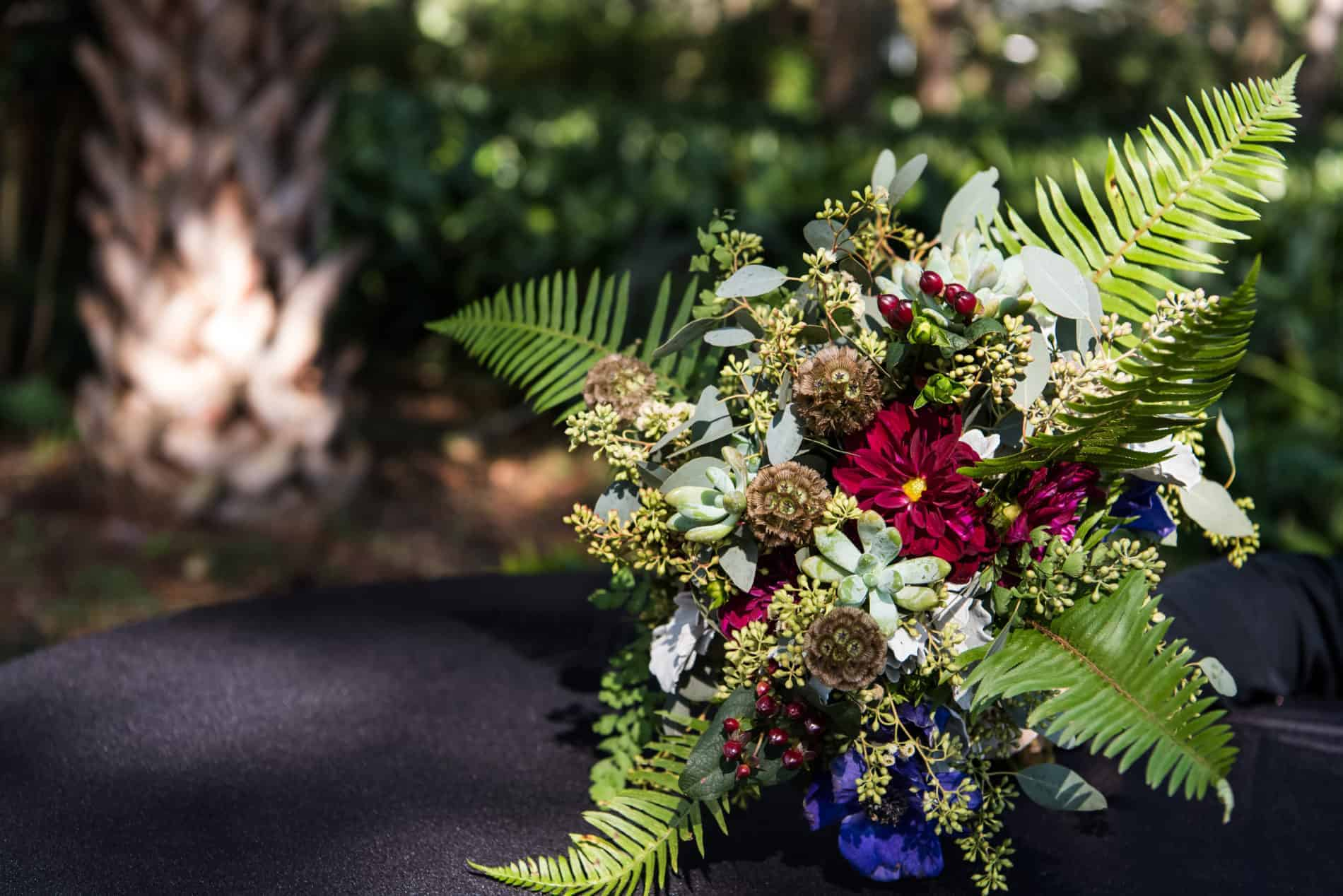 Simple Wedding in Fall at DeLeon Springs