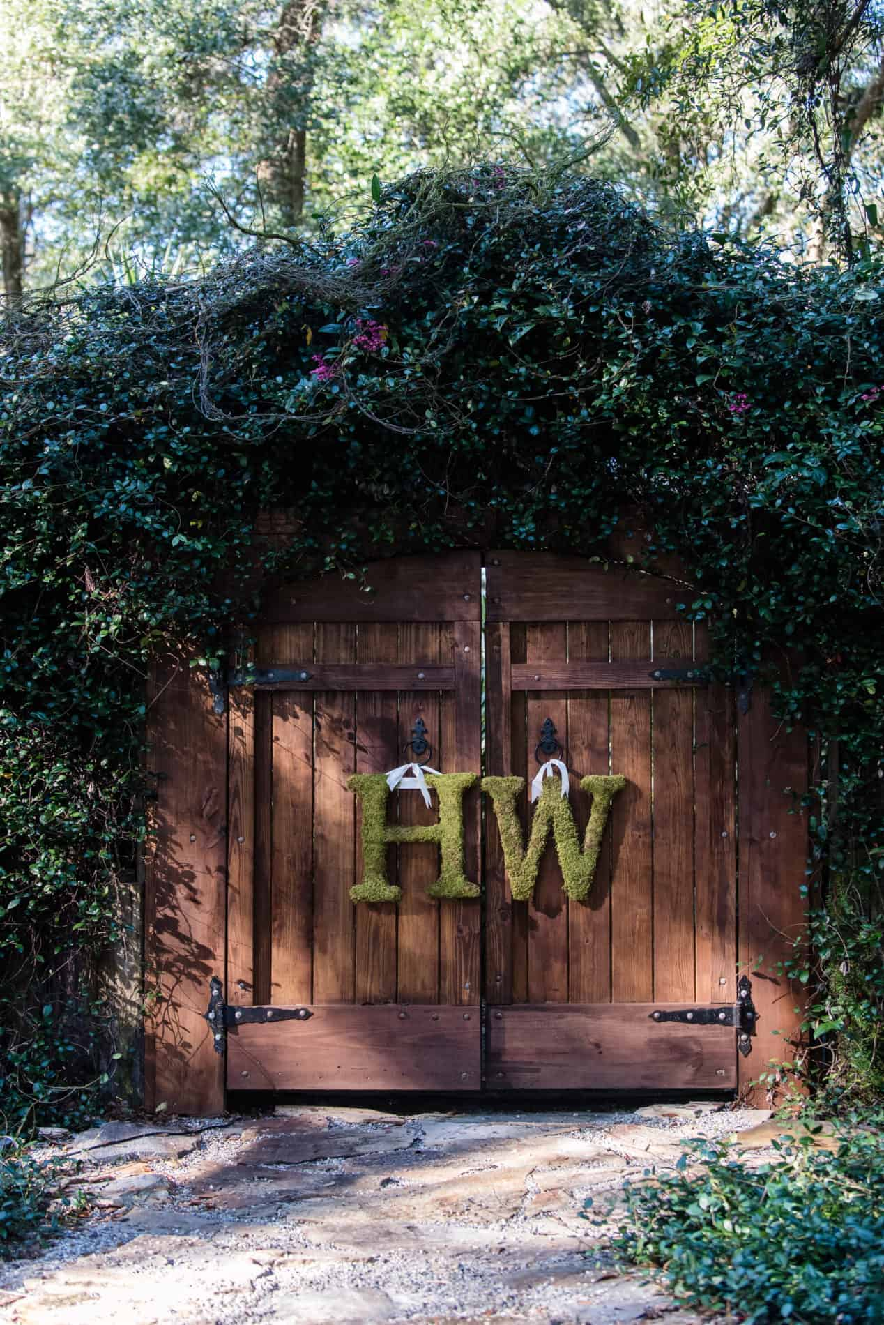 Personalized Rustic Wedding in DeLeon Springs