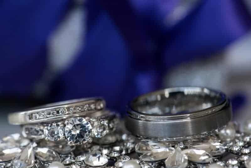 Beautiful Wedding Rings photographed in Orlando