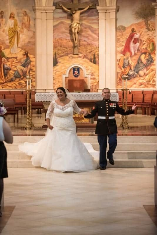 Newlyweds announced at Saint James Cathedral in Orlando