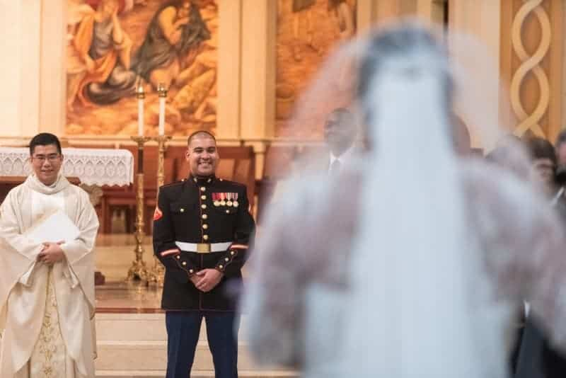 Beautiful Cathedral Wedding in Orlando Florida