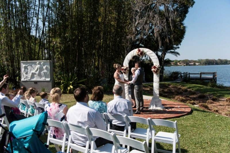 Outdoor Ceremony in Winter Park Florida