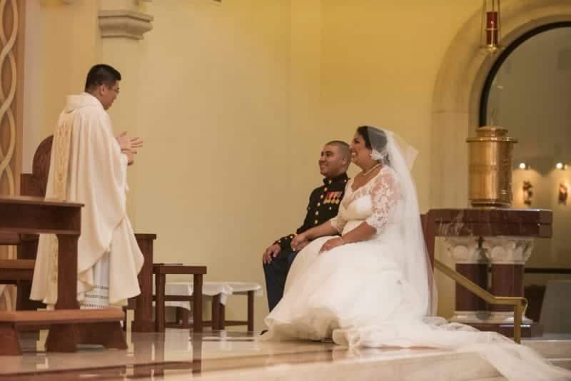 Catholic Full Mass Wedding at St James Cathedral in Orlando