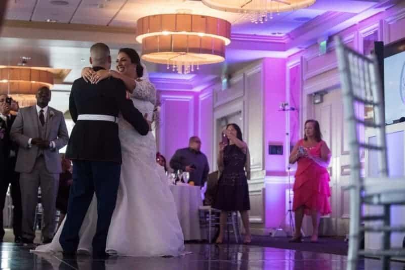 First dance at their Citrus Club Wedding