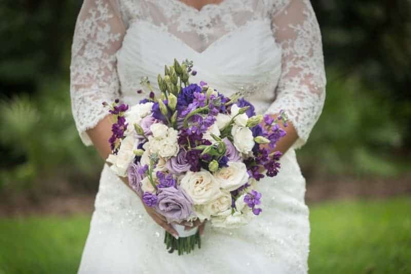 Brides Flowers outdoors