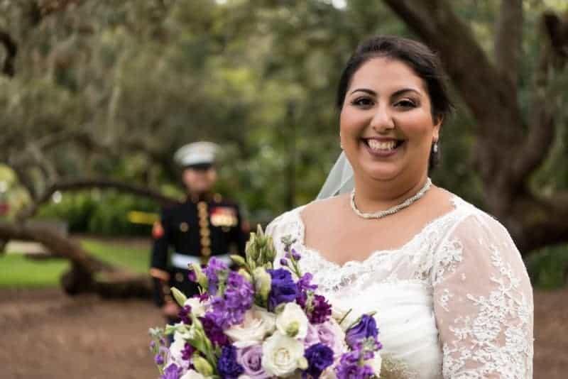 Bride captured by Orlando Wedding Photographers
