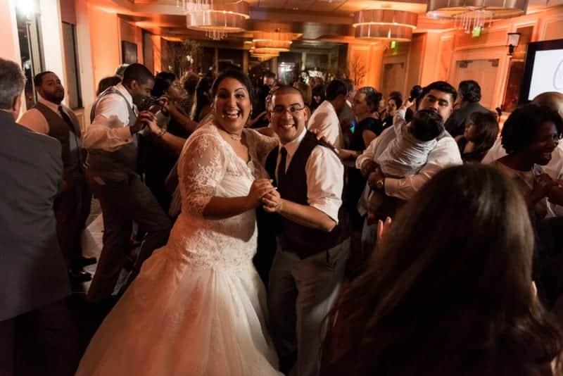 Citrus Club Wedding Reception at night