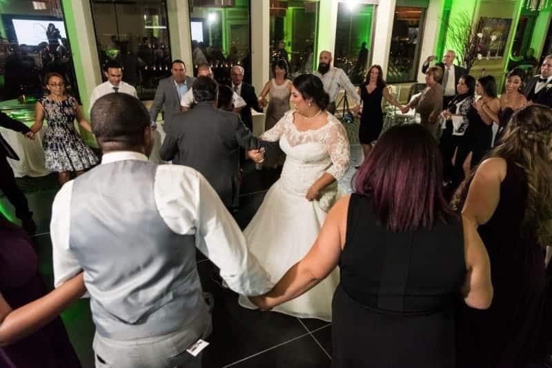 Family dance at Downtown Orlando Wedding Venue