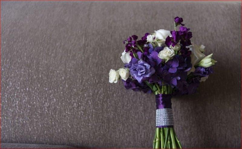 Wedding Bouquet at Citrus Club Wedding