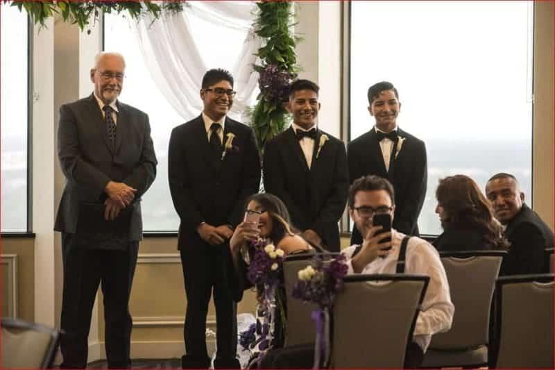 Ceremony at Citrus Club Wedding