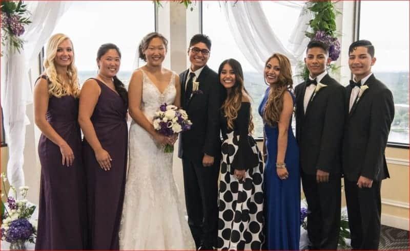 Family Formals at Citrus Club Wedding